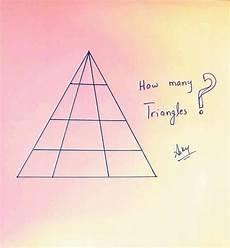 Wie Viele Dreiecke - wie viele dreiecke sind auf diesem bild zu sehen