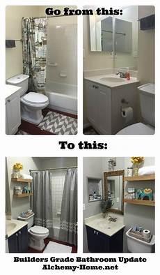 builder bathroom makeover easy diy builders grade bathroom updates bathroom ideas easy bathroom updates simple