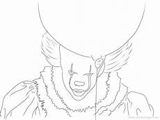 pennywise coloring pages for xcolorings