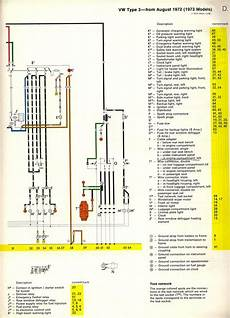 Im Looking For A Color Coded Wiring Diagram For A 1973 Vw
