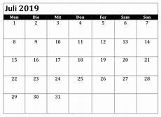 zeitplan blatt kalender juli 2019 zum ausdrucken juli