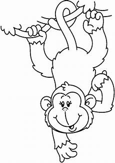 Malvorlagen Tiere Affen Ausmalbild Affe 14 Ausmalbilder Tiere