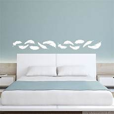 stickers deco chambre sticker plumes galerie stickers t 234 te de lit