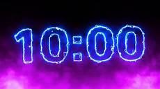 in 10 minuten electric 10 minute countdown