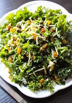 lemon parmesan kale salad layers of happiness