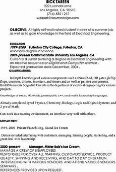 sle resume for internship in computer engineering