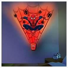 amazon com uncle milton spider man wild walls light and sound room decor toys games