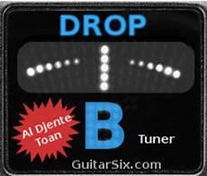 Drop B Tuning