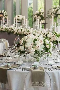 white green wedding centrepieces wedding decor toronto rachel a clingen wedding event design