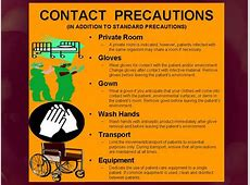 enhanced isolation precautions cdc poster