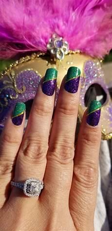 43 fantastic mardi gras nail art designs style vp page 8