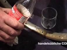 Chrom Rost Entfernen Mit Cola Und Alu Folie