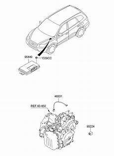 2009 hyundai santa fe transmission diagram wiring schematic 952242d000 hyundai relay assembly power sep santa