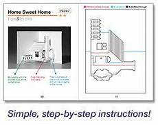 pop up card templates pdf house templates step by step make