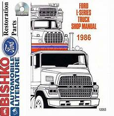 service manuals schematics 1986 ford f series engine control 1986 ford l series shop service repair manual cd engine drivetrain electrical oe ebay