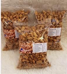 kacang almond panggang kg jual kacang almond panggang 1 kg usa california original flavor creamy butter milk di