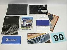 free service manuals online 2001 volvo s80 electronic valve timing 2001 volvo s80 factory owners manual portfolio 90 ebay