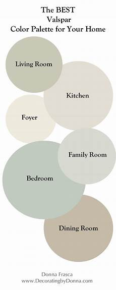 the best valspar color palette for your home decorating by intuitive color expert