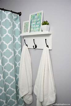 bathroom towel racks ideas 10 clever diy towel racks the budget decorator