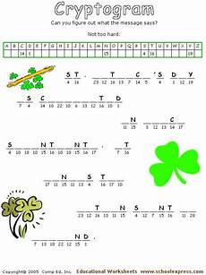 s day cryptogram worksheets 20322 schoolexpress 19000 free worksheets create your own worksheets