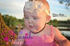 Baby Hair Elastics Canada newborn ivory couture birthday flower headband baby