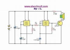 high power siren circuit using cd40106 the simple siren circuits