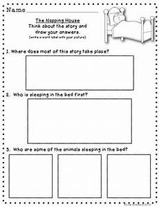 the napping house lesson plans differentiated comprehension questions for the napping
