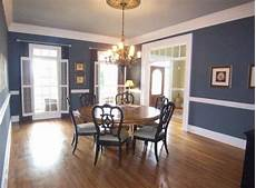 dining room paint ideas with chair rail large dining room with hardwood flooring and chair