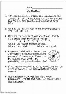 word problems worksheets grade 5 11043 pin on a