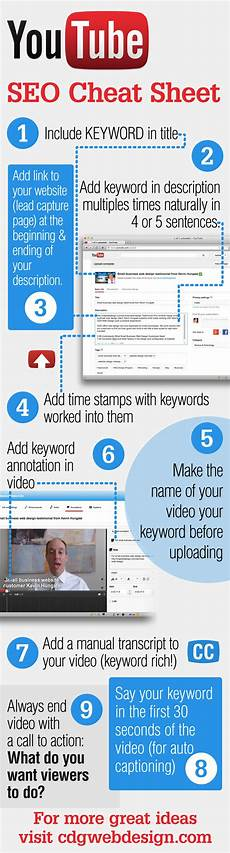 youtube seo cheat sheet pictures photos and images for