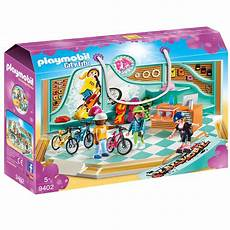 Playmobil Ausmalbilder Citylife Playmobil 174 City Bike Skate Shop 9402 Karstadt