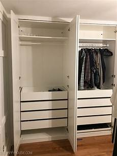Diy An Organized Closet Big Or Small With The Ikea Pax