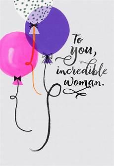 Balloons For An Birthday Card