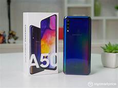 samsung galaxy a50 review finally a reasonable samsung mid ranger mysmartprice