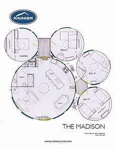 yurt house plans floor plans rainier yurts