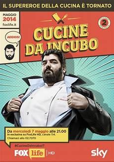 cucine da incubo prima stagione chef cannavacciuolo da stasera su foxlife con cucine da