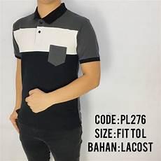 jual baju polo pria cowok laki laki kaos kerah motif distro premium 1410 di lapak dtas store