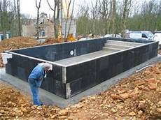 piscine hors sol beton en kit mini piscine kit beton