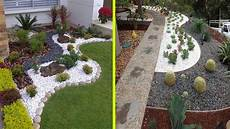 cool white gravel decoration ideas and rock garden