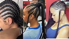 2019 beautiful braided hairstyles trending cornrows feed in braids that will make you