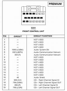 Cd Player Wiring Diagram 2000 Town Car by Which Connector Is This Harness And Interior