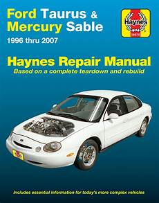car repair manuals online pdf 2007 ford taurus user handbook taurus haynes manuals