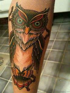73 elegant owl tattoos on leg
