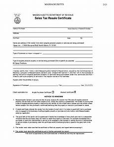 fillable online massachusetts form st4 2121 massachusetts department of revenue rev 2 94 sales