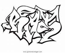 Gratis Malvorlagen Graffiti Graffiti Grafiti 13 Gratis Malvorlage In Diverse