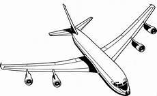 flugzeug vier duesen oben ausmalbild malvorlage die