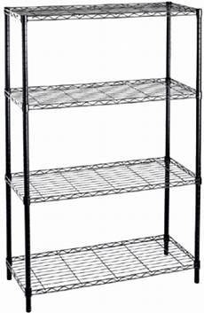 scaffale in acciaio libreria scaffale a 4 ripiani leggeri acciaio nero cm