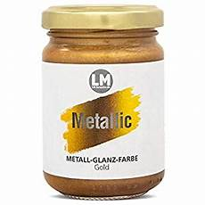 lm kreativ metallic 125ml gold metallic farbe metall