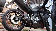 yamaha yzf r125 200mm delkevic exhaust system sound