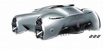 Sport Car Race Design Sketch Industrial
